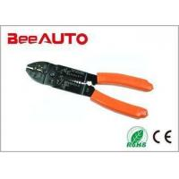 China Multifunctional Wire Crimping Tool Cutting Stripping In One 235mm Self - Adjustable on sale