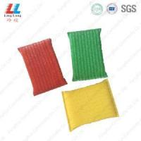 China Golden and silver sponge kitchen cloth on sale