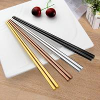China Stainless Steel Hollow Chopsticks wholesale