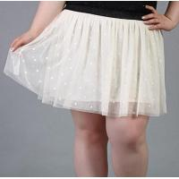 China fat woman knee length plus size skirt wholesale wholesale