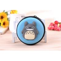 China Customize embossed logo bear cartoon small coin purse on sale