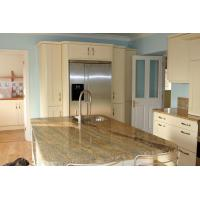 China Indian Kashmir Gold Granite Slab Countertops Counter Kitchen Tops 30mm Thickness wholesale