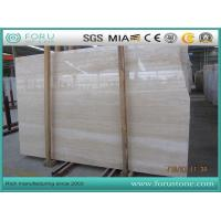 China Italy Roman Travertine Navona Travertine Polished Surface for Hotel Projects wholesale