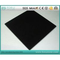China Chinese Hebei Black Granite Absolute Black Granite Tiles in Flamed and Polished Surface wholesale