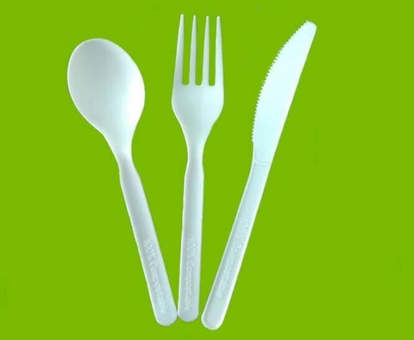 Quality CPLA Compostable Cutlery for sale