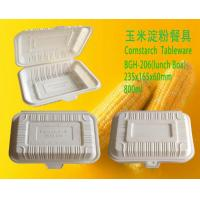 Biodegradable Lunch boxes BGH-206 Biodegradable lunch box 800ml