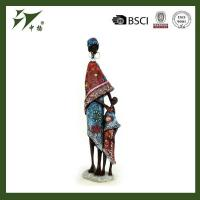 China Resin black lady figurines for home decor wholesale