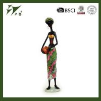 China Wholesale African Black Women Resin Figurine wholesale