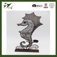 Buy cheap Decorative Sea horse Metal Home Decoration Modern from wholesalers