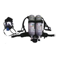 China Double Cylinder Firefighter Self Contained Breathing Apparatus SCBA Mask wholesale
