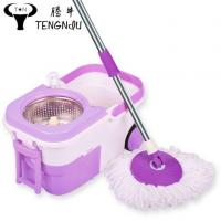 China Super Spin Mop with Easy Wheels and Bucket for Magic 360 Degree Rotating Cleaning wholesale