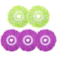 China 360 Microfiber Easy Spin Cycle White Mop Head Refill wholesale