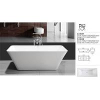 China Cheap Indoor Acrylic Plastic Small Bathtub for Sale at Home Depot wholesale