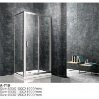 China Hot Sale Pivot Frameless Tempered Glass Shower Cubicles Enclosure on sale