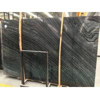 China Chinese Antique Wood Stone Marble, Black Vein Marble Floor Tile on sale