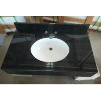 China Absolute Black Granite Vanity Top For Kitchen wholesale