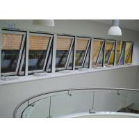 China Powder Coating Metal Awning Windows , Top Hung Roof Window AS2047 Standard on sale