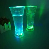 China Light up drinking cup 10oz Led plastic glass on sale