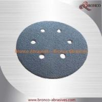 Silicon Carbide Black Hook and Loop/VelcroSanding Paper for Glass Industry