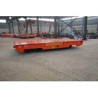 Buy cheap Trackless Rubber Wheel Steel Tube Handling Custom Transfer Carts from wholesalers
