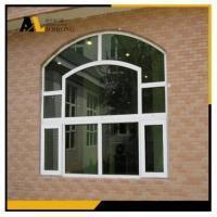 China Single Glass Aluminum Fixed Picture Window with Round Arch wholesale