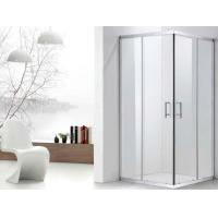 China Rectangular Framed Sliding Shower Cubicle in 304 Stainless Steel with Safe Tempered Glass on sale