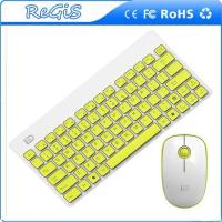 China 2.4G Thin Mini Wireless Logitech Keyboard And Mouse For Notbook And Pc on sale