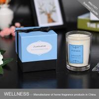 Scented candle in glass jar with gift box-WNJ17271