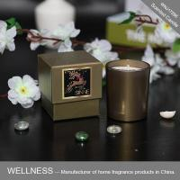 New design scented candle in shining bottle with gift box-WNJ17296