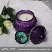 Scented candle in glass jar-WNJ17277
