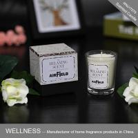 Scented candle in glass jar with gift box-WNJ17279
