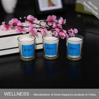 Three small scented candles in one gift box -WNJ17285
