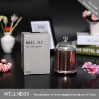Rose gold plating scented candle in dome bell-WNJ17284