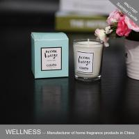 Scented candle in glass bottle with folding box-WNJ17287