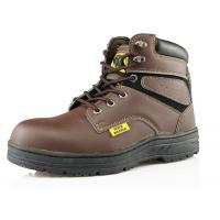 China SD101 high ankle steel toe leather safety boots on sale