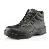 China DTA009 S1-P standard deltaplus sole leather safety shoes wholesale