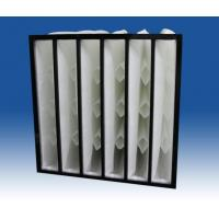 China Compact /self-support/reinforced/rigid Pocket Trane Air Filters wholesale