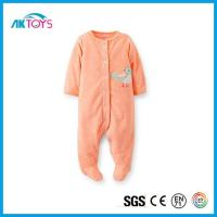 China Baby Plush Pajamas with Animal Plush, New Design Baby Sleepwear with Custom Printed wholesale