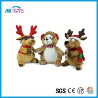 China Reindeer Plush Toy Using for Christmas Toy, Soft Toy and Stuffed Toy with Scarf for Good Sale wholesale