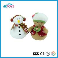 China Plush Snowman Decor Toy Bulk Stocking Which Children Like Most Best for Christmas Gift wholesale