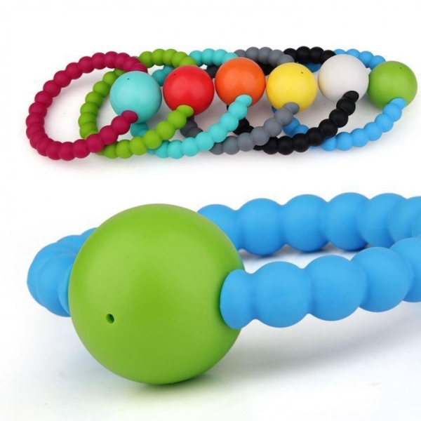 Quality Silicone Baby Teether Teething Ring Best Teething Toys Supplier for sale