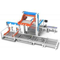 Low Position Film Packs Palletizing Machine Shrink Packs Or Trays