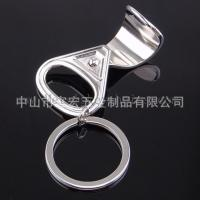 China Easy Stainless Steel Easy Pull Ring Bottle Opener Pop Can Start Bottle Coke Ring Beer Bottle Opener on sale