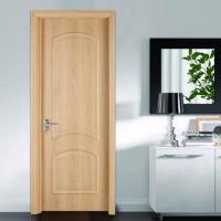 China New Pine Interior Doors with Clasic Panel Design on sale