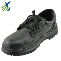 China Branded Safety Shoes Embossed Leather Safety Boots on sale