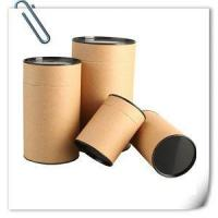 China Paper Tea Can Cosmetic Packaging Paper Tube Coated wholesale