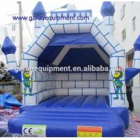 China Air tight inflatable games Kids inflatable bouncer castle / inflatable moonwalks for sale on sale