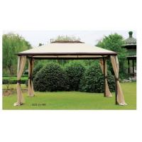 3x4 Small Metal Roof Steel Party Gazebo Tent 3x4 With Mosquito Net