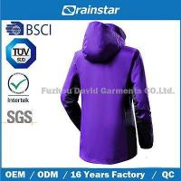 China Polyester Peach Waterproof & Breathable Clothes with Good Color Fastness on sale