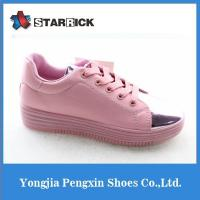 China Brazil Imported Leather Women Casual Loafers Shoes on sale